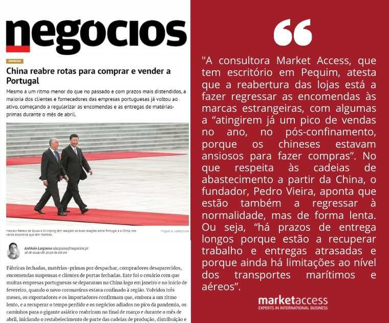 market access internacionalização exportacao china