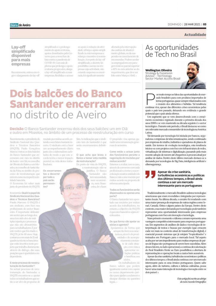 Oportunidades tecnologia Brasil