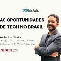 Wellington oportunidades tecnologia Brasil